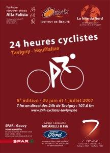 24 heures cyclistes de Tavigny - 2007