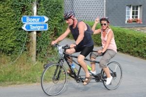 24h cyclistes de Tavigny - Course